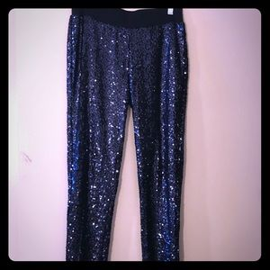 Sequin pants from aerie size small